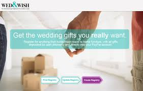 furniture wedding registry 500 giveaway from wed wish wedding registry