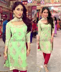 6015 kareena kapoor khan u0027s pista maroon straight fit suit