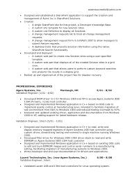 Veteran Resume Examples by Kleimeyer Sharepoint Resume