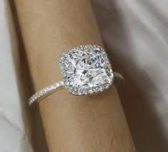 cushion cut engagement ring best 25 cushion cut halo ideas on cushion cut
