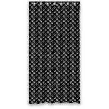 Tardis Beaded Curtain by Aliexpress Com Buy 36wx72h Inch Waterproof Bath Cute Black Puppy