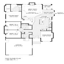 great room floor plans single story bungalow house floor plans single storey bungalow house craftsman