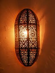 Moroccan Sconce Medina Touch Moroccan Interior Moroccan Lamps Wall Light And