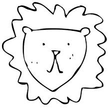 easy drawing of a lion drawing art gallery