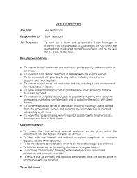 Resume Samples Ultrasound Tech by Nail Tech Resume Virtren Com