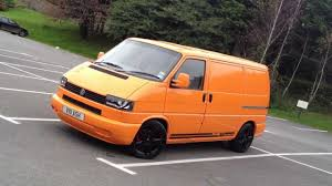 volkswagen orange vw transporter t4 soloar orange www totallyt4 co uk youtube