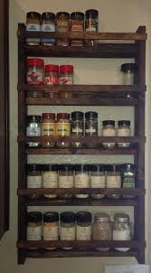 Wall Mount Spice Rack With Jars Https I Pinimg Com 736x 19 76 D9 1976d945d5ce572