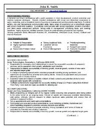 sample resume for leasing consultant real estate manager resume
