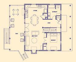 cabin floorplans small log cabin floor plans cottage house plans 57564