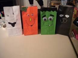 jean u0027s crafty corner day 17 of halloween projects paper sack