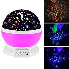 bedroom star projector star projector night light for kids 360 degree rotation flashing