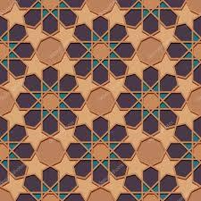 ornamental seamless islamic pattern stock vector lianella