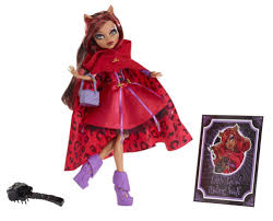 Monster High Halloween Costumes Clawdeen Wolf by Ghoulia Dolls