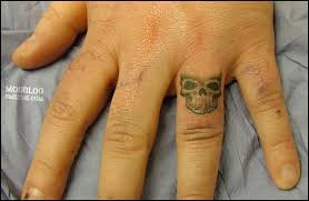 skull finger ring bme piercing and modification