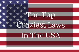 All The State Flags Top 10 Craziest Laws In The United States