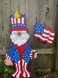 Christmas Outdoor Decorations Usa by Pallet Wood Uncle Sam Pattern Americana Pinterest Pallet