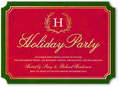 Cowboy Christmas Party Invitations - christmas invitations u0026 christmas party invitations shutterfly