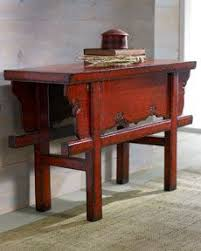 asian style sofa table red lacquer console table asian side tables and accent tables