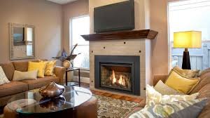 direct vent gas fireplace insert with blower image of gas