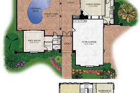 Courtyard Homes Courtyard Homes Floor Plans House Design Ranch House Plans