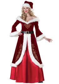 mrs claus costumes mrs st nick costume