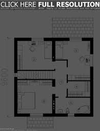 efficient small house floor plans luxihome small modern cabin house plan by fre
