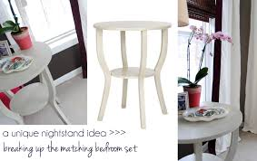 Unique Nightstand Ideas Ideas For Breaking Up Matching Furniture Jenna Burger