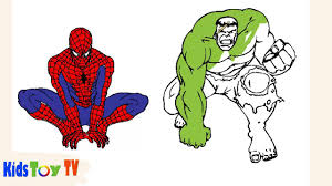 spiderman hulk coloring books spiderman coloring pages