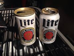 calories in miller light beer people really think miller lite in vintage style cans tastes better