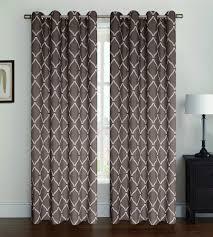 2 pack celine window panel window curtains lattice pattern 5