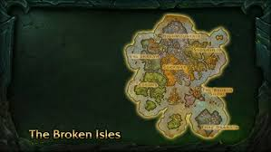 World Of Warcraft Map by Blizzcon 2015 World Of Warcraft Legion Panel