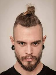 top knot mens hairstyles 11 manly man bun top knot hairstyle combinations