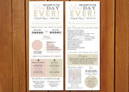 wedding programs printable wedding program printable wedding program template rustic
