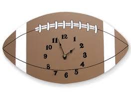 Clock Design Trend Lab Little Mvp Football Wall Clock U0026 Reviews Wayfair