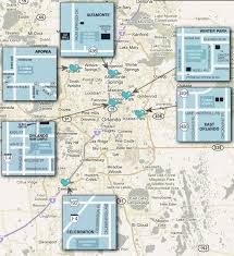 Orlando Florida Map Locations Around Orlando For The Center For Sleep Disorders At
