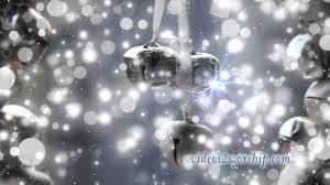 silver bells motion background