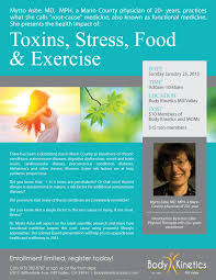 How Many Of These Powerful by Toxins Stress Food And Exercise Pacific Sun Marin County