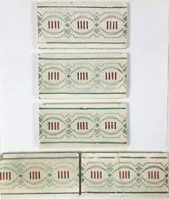 coronet 6x6 nouveau tiles deco and tile
