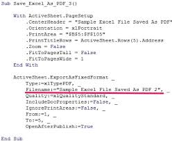 excel vba save as pdf step by step guide and 10 examples