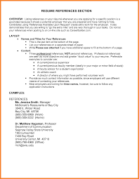Sample Of Resume Reference Page Resume References Format Sop Proposal Sample Resume Reference