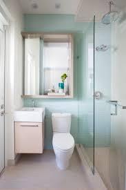 wonderful glass stainless unique design river rock tile bathroom