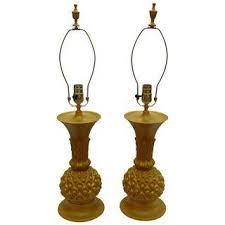 vintage u0026 used yellow table lamps chairish