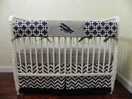 Custom Crib Bedding For Boys Baby Boy Airplane Crib Bedding Sets Airplane Crib Bedding For