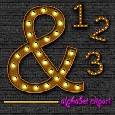 marquee numbers with lights marquee lights alphabet clipart theater lights alphabet