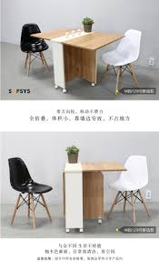 sofsys folding table dining table small household dining table