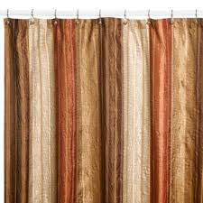 72 X 78 Fabric Shower Curtain Manor Hill皰 Copper Fabric Shower Curtain Bedbathandbeyond
