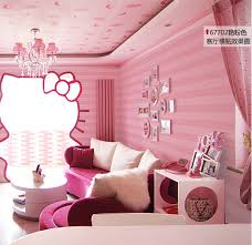 Purple Pink Bedroom - wallpaper for childrens bedroom picture more detailed picture
