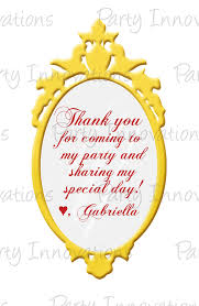 printable snow white mirror party favor tags partyinnovations09