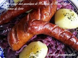 comment cuisiner la saucisse de morteau chou aux saucisses de morteau et montbéliard pommes de terre