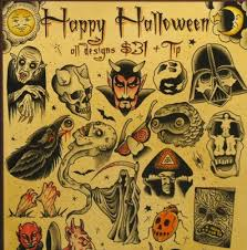 halloween tattoos and designs page 30
